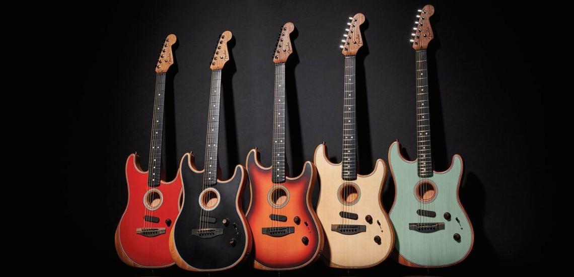 NAMM 2020: Fender Expande Gama Acoustasonic