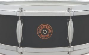 gretsch drums black copper snare header