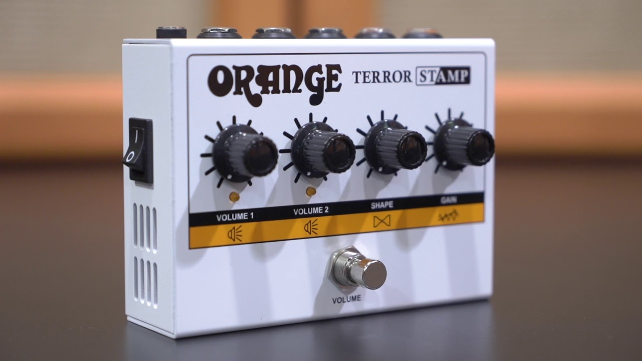 NAMM 2020: Orange Terror Stamp