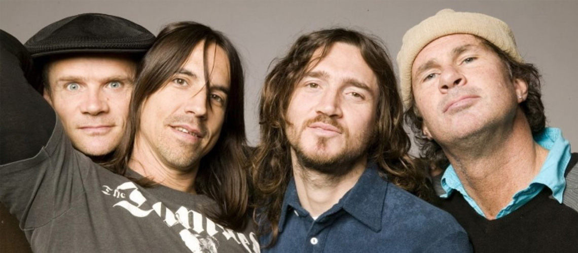 Red Hot Chili Peppers Vendem Catálogo por 115 Milhões de Euros