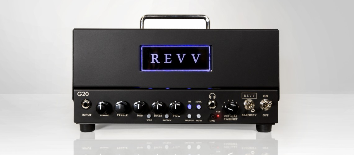 NAMM 2020: Revv G20, Monstro de Heavy Metal