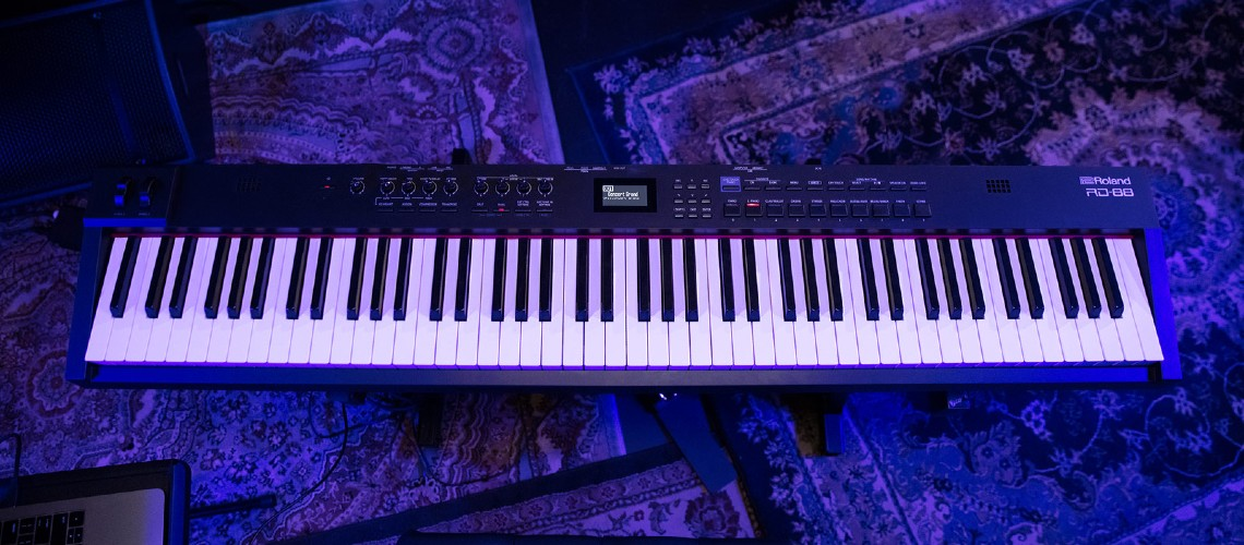 NAMM 2020: Roland RD-88, Novo Piano Digital