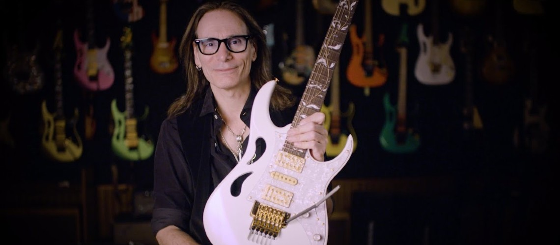 Assinatura Paradise In Art Steve Vai da Ibanez Guitars