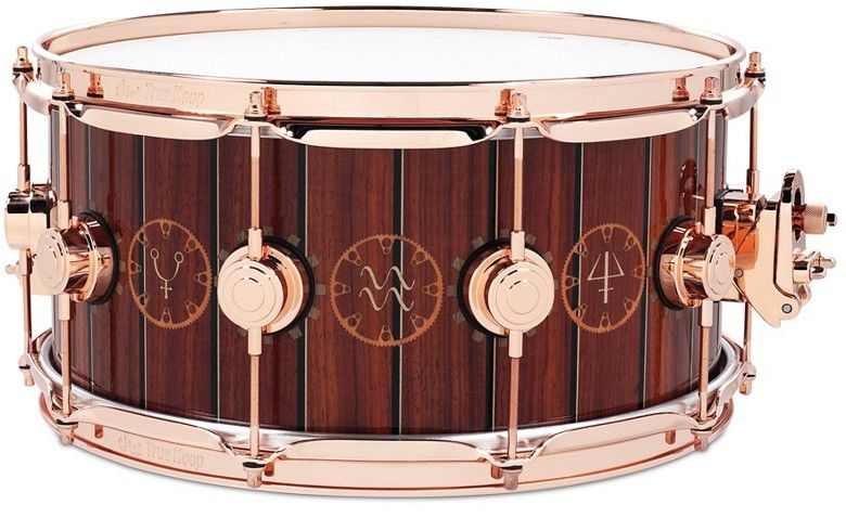 time machine neil peart snare dw