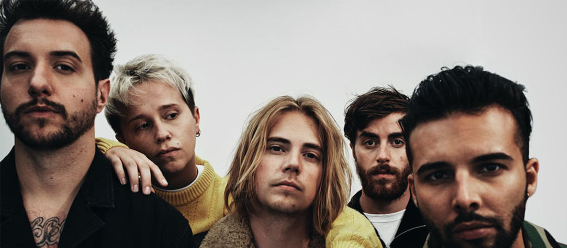 Nothing But Thieves no NOS Alive 2020