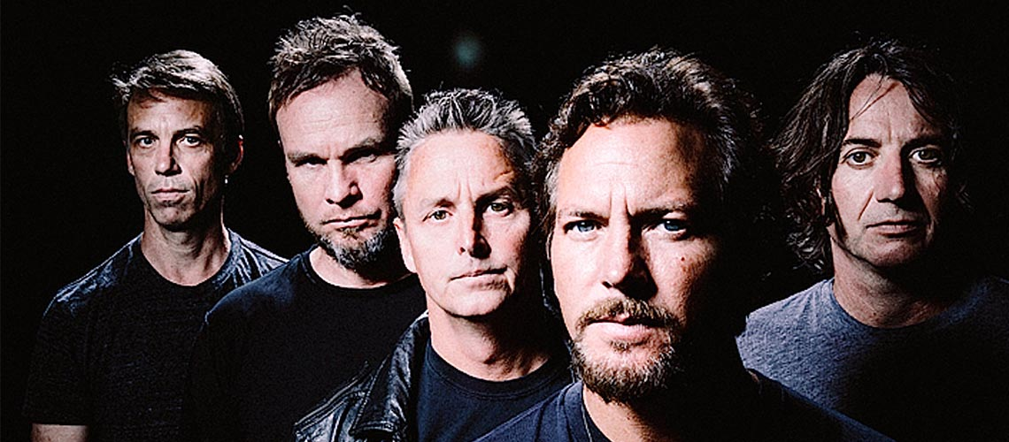 Queres ouvir a nova música dos Pearl Jam? Tens que apontar o teu telemóvel para a lua