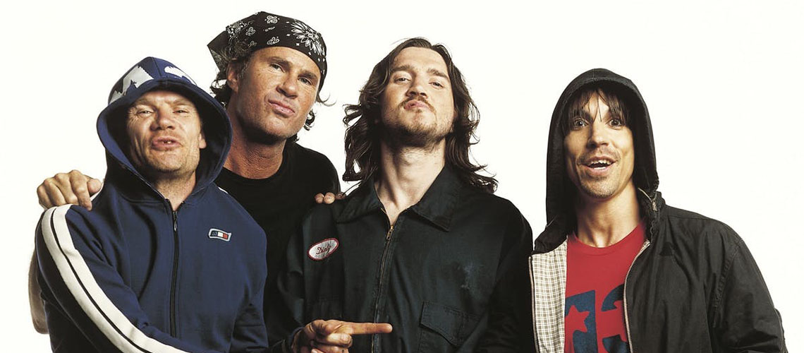 Red Hot Chili Peppers no NOS Alive 2021