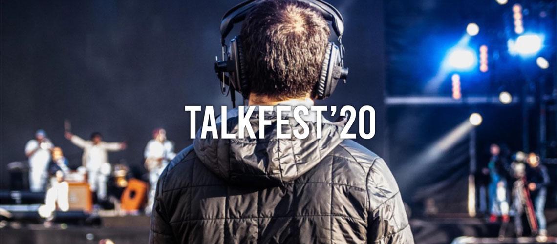 TalkFest 2020 com Noiserv, Holy Nothing e Museless