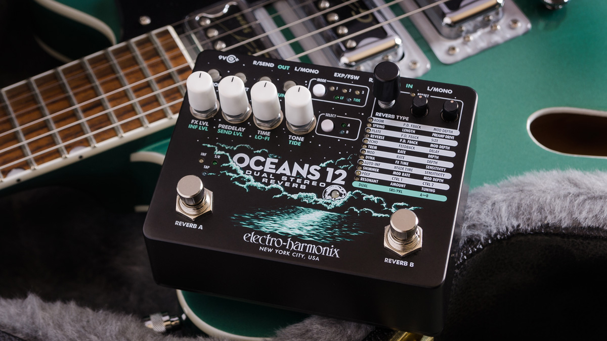 EHX Oceans 12 Dual-Stereo Reverb