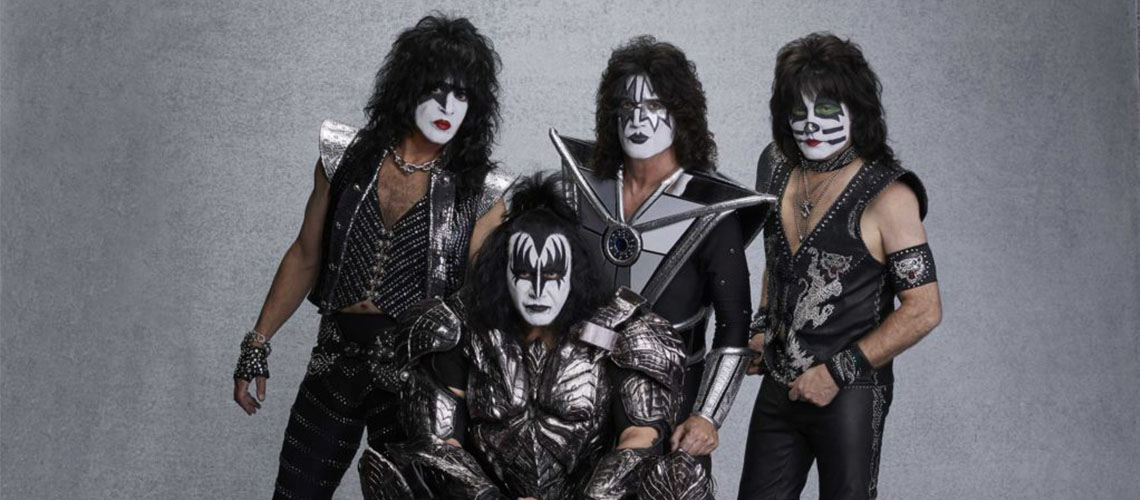 "KISS anunciam reagendamento da digressão ""End Of The Road"" para 2021, mas Lisboa está fora"