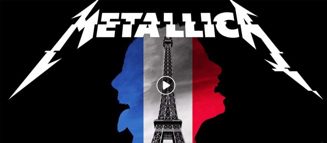 Todas as segundas, podes ver um concerto de Metallica em streaming