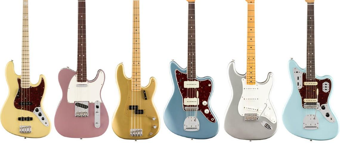 Fender: Novos Acabamentos na Gama American Original