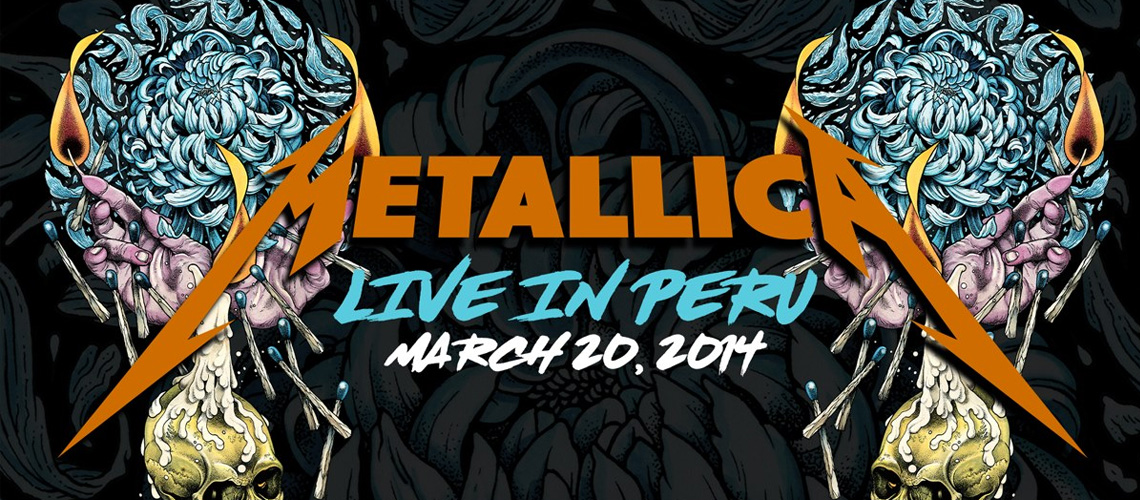 #MetallicaMondays: Todas as segundas podes ver um concerto de Metallica em streaming