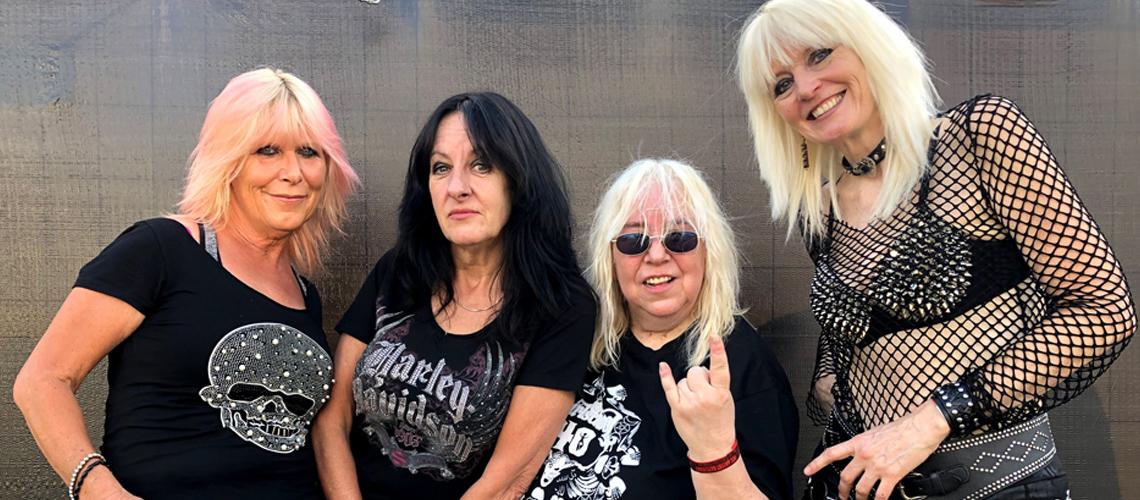 Girlschool dão concerto em Portugal em Setembro