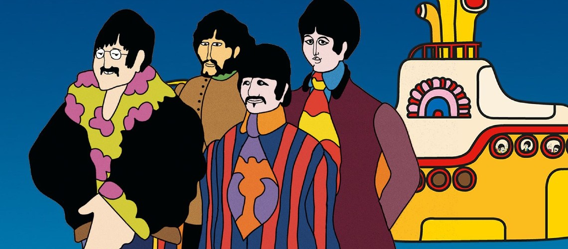 "The Beatles, O Espetacular Filme ""Yellow Submarine"" em Streaming Especial"