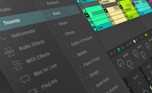 header ableton-live-x-concept-interface