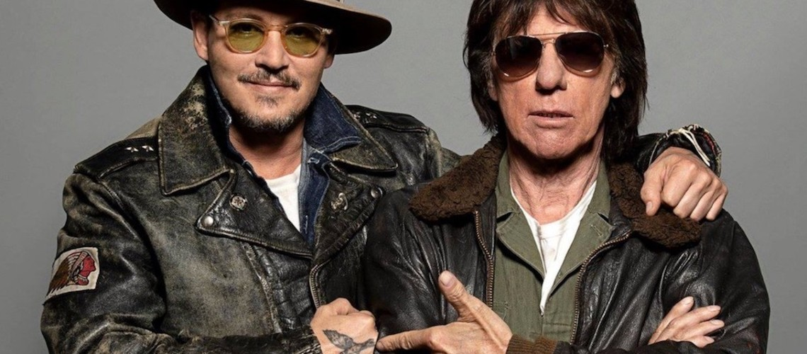 Johnny Depp & Jeff Beck Juntos em Cover de John Lennon