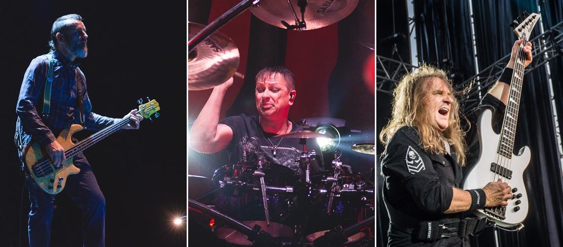 Membros dos Tool, Megadeth e Korn Dão Seminário Online de Baixo e Bateria