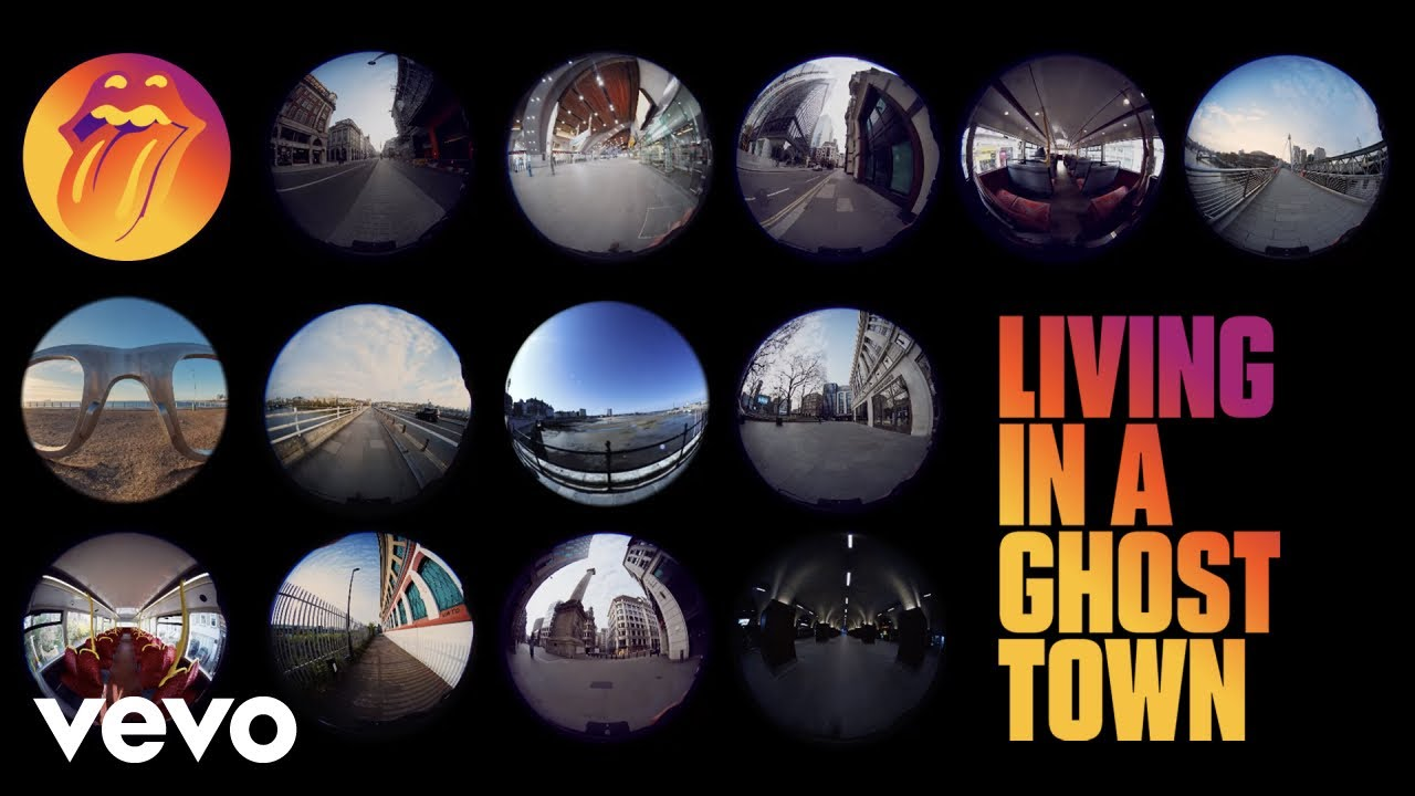 "The Rolling Stones, Novo Single ""Living In A Ghost Town"""