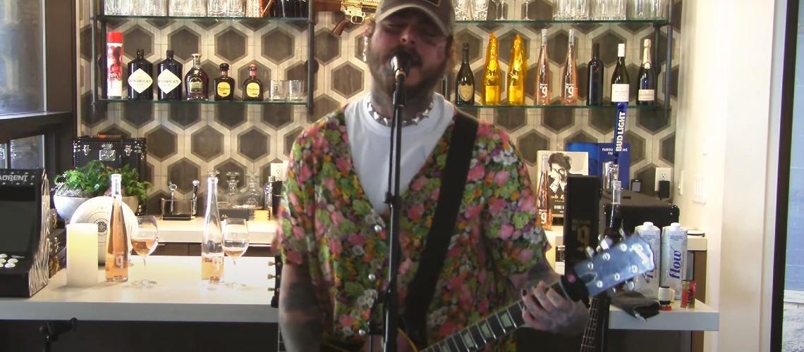 Post Malone, Coragem & Devoção no Tributo a Nirvana