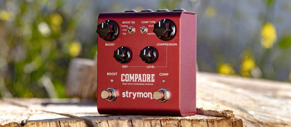 The Compadre Novo Boost e Compressor da Strymon