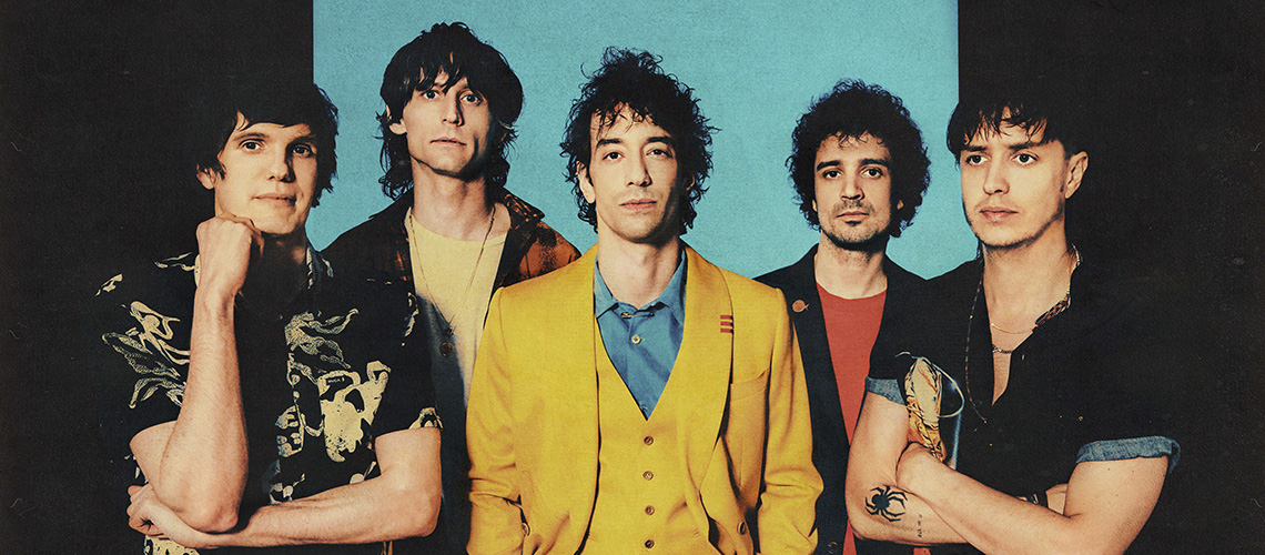 "The Strokes partilham vídeo para ""Ode To The Mets"""