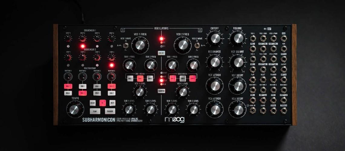 Subharmonicon é o Novo Synth Polirrítmico da Moog