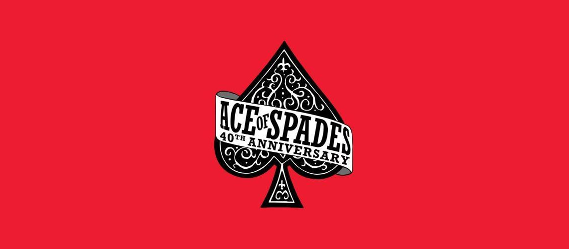 "40º Aniversário de ""Ace of Spades"" dos Motörhead. Vai Haver Festa Rija!"