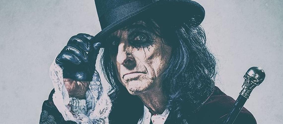 """Alice Cooper lança mensagem de esperança em nova música, """"Don't Give Up"""""""