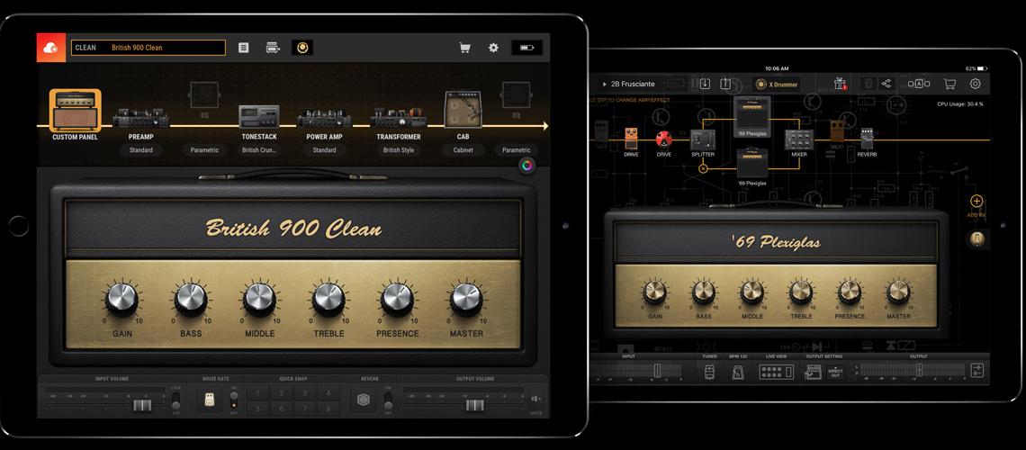 BIAS FX 2 Mobile, App de Desenvolvimento de Rigs Virtuais