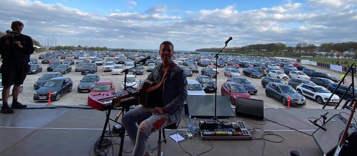 Drive-in concert, o futuro dos concertos ao ar livre até à vacina?