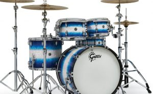 gretsch brooklyn series blue burst pearl