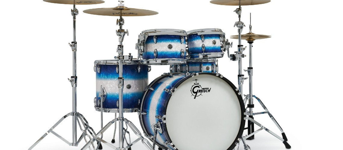Gretsch Drums, Novos e Deslumbrantes Acabamentos na Gama Brooklyn