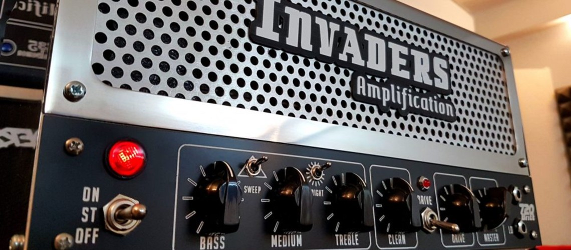 Invaders Amplification, 720 Britt: Agressivo Som Boutique Britânico