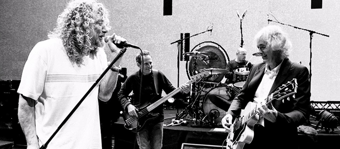 """Celebration Day"", o filme concerto da reunião dos Led Zeppelin em Londres em streaming"
