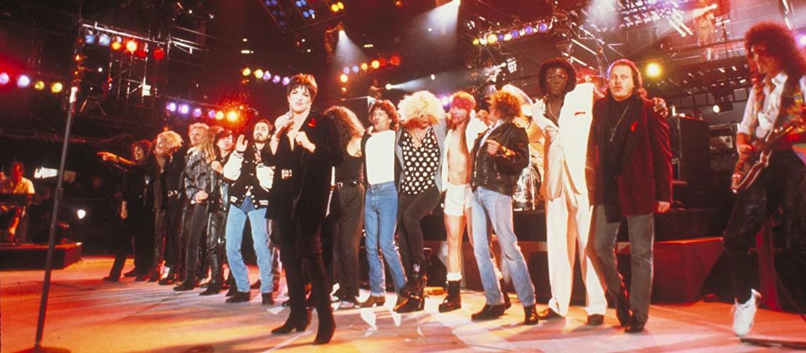 Os Queen irão transmitir o concerto histórico de homenagem a Freddie Mercury