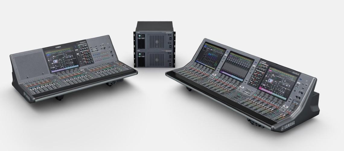 Yamaha Aumenta Gama RIVAGE PM e Lança Actualização Firmware