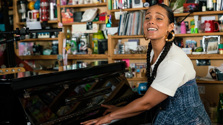 Alicia Keys Estreou-se nas Sessões Tiny Desk