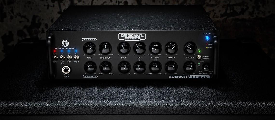TT-800, Mesa/Boogie Expande Subway Series com Novo Amp Dual Channel