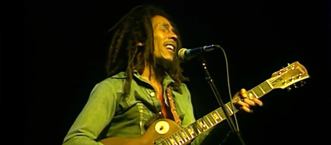 Bob Marley no Rainbow em 1977 no Youtube
