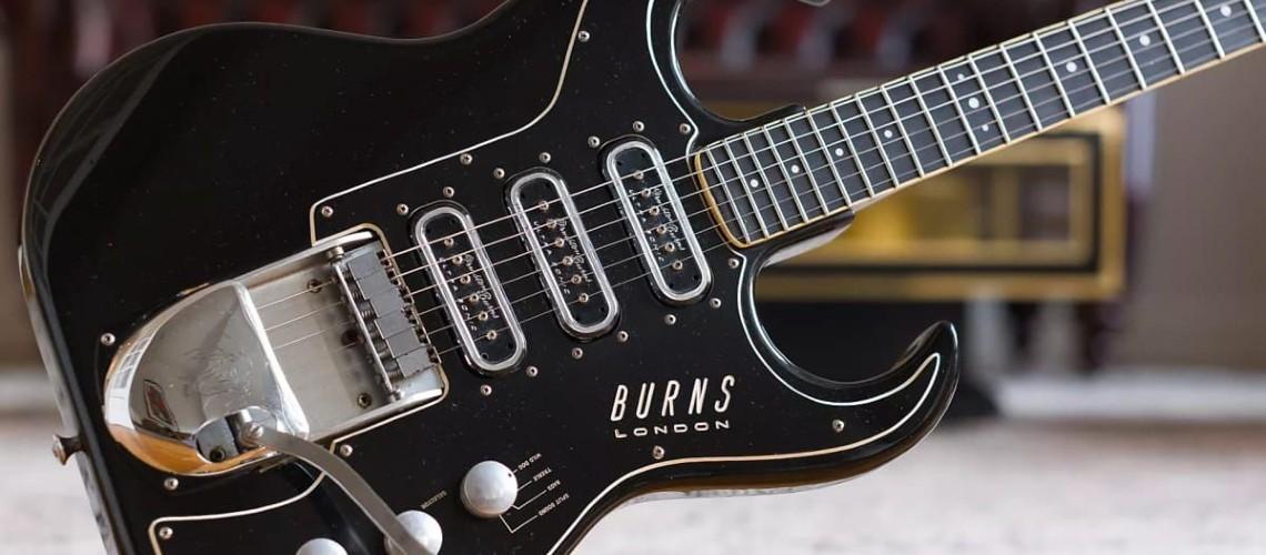 As Históricas Burns Guitars Estão de Regresso