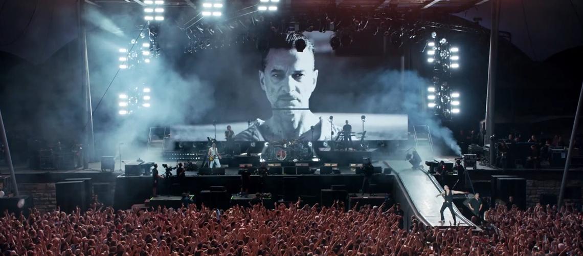 """Depeche Mode: Vais poder assistir ao streaming do filme-concerto """"LiVE SPiRiTS"""""""