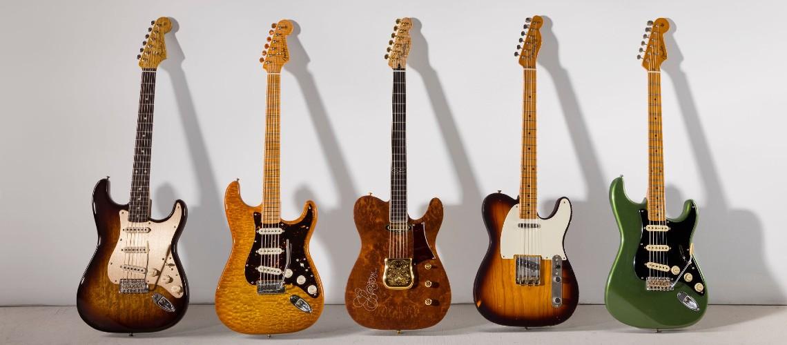 Fender Custom Shop Ajuda Roadies sem Trabalho