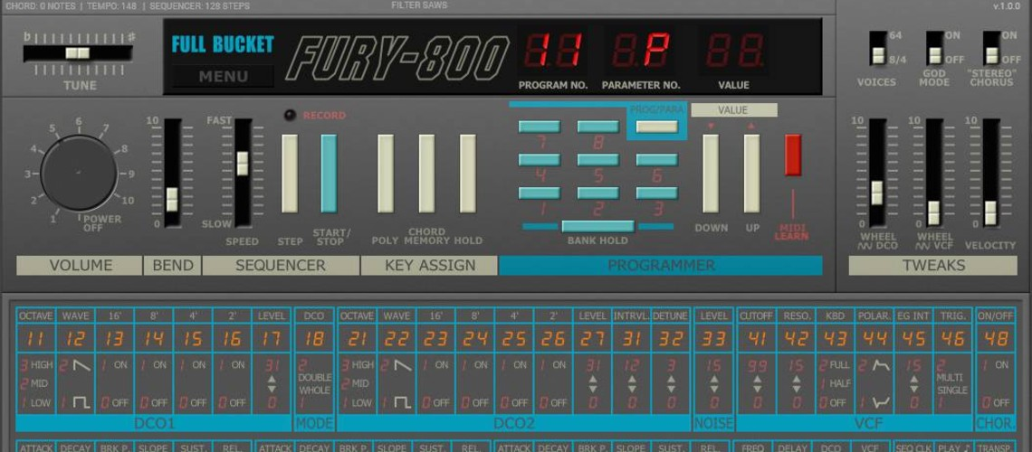 Plugin VST/AU Gratuito do Clássico Synth Korg Poly-800