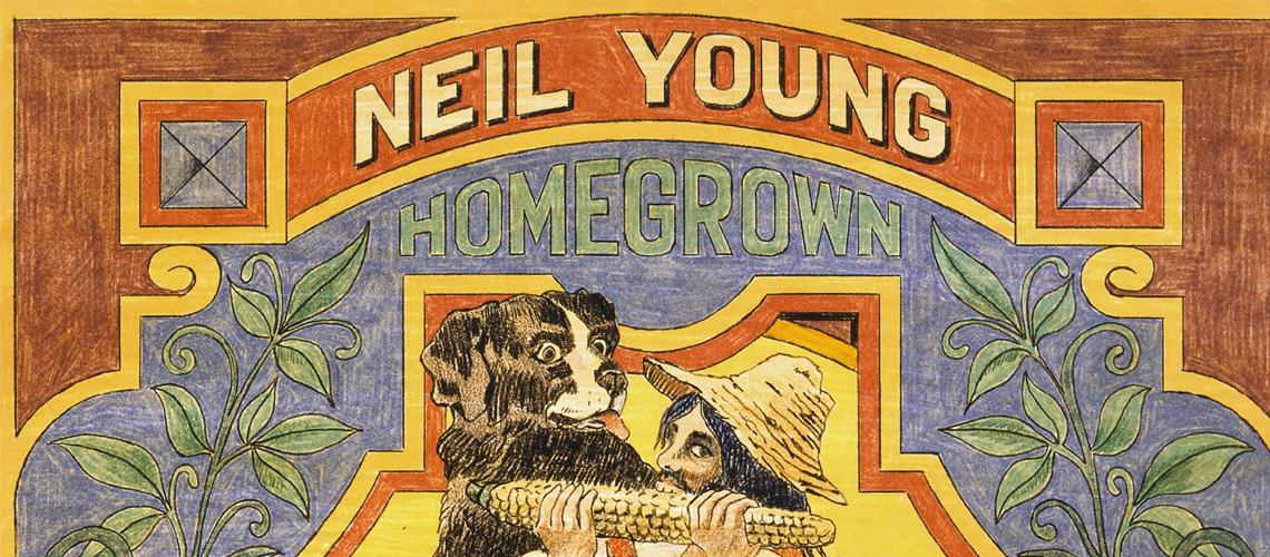 """Neil Young: """"Homegrown"""", o álbum de estúdio de 1974 em streaming"""