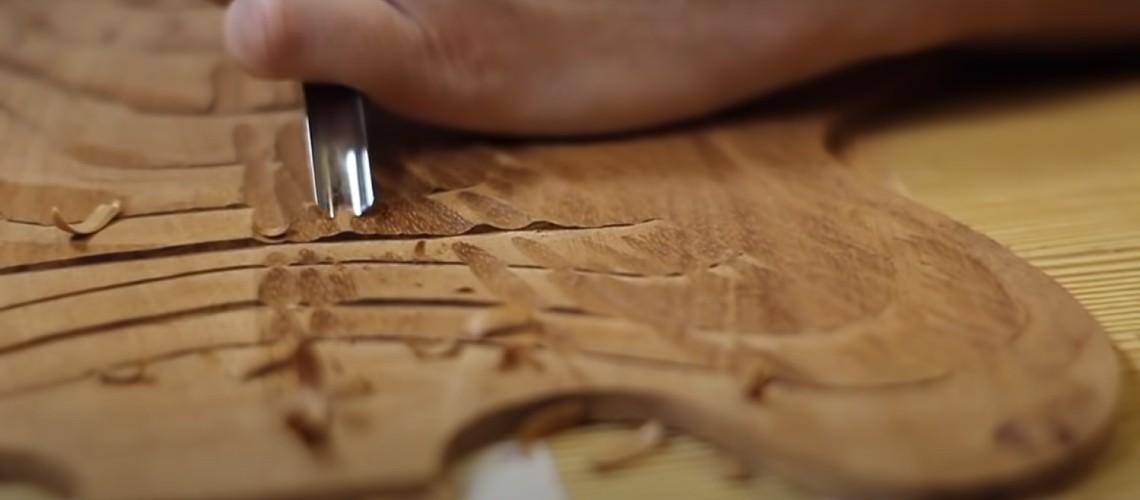 Construção Artesanal de Semi Hollow à Brian May [Vídeo]