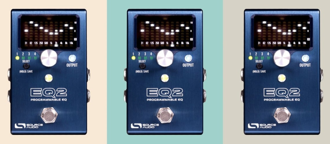 Source Audio Estreia o EQ2, Potente Pedal Equalizador