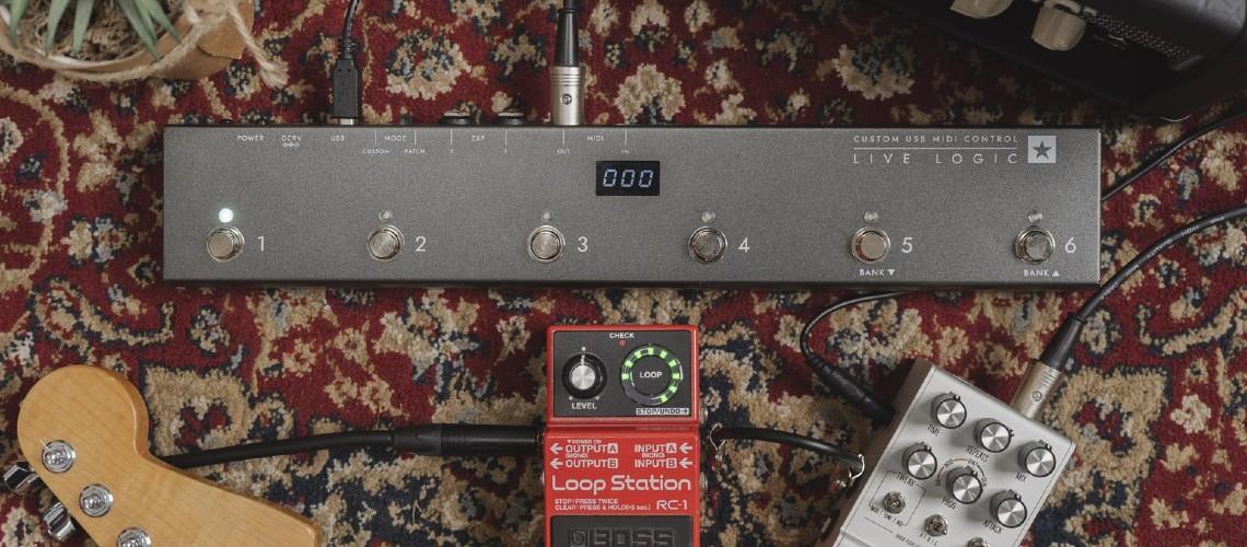 Live Logic, Novo Controlador MIDI da Blackstar