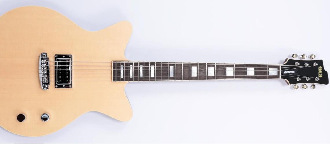 Craftsman Series 1, A Guitarra Criada por Kurt Ballou dos Converge