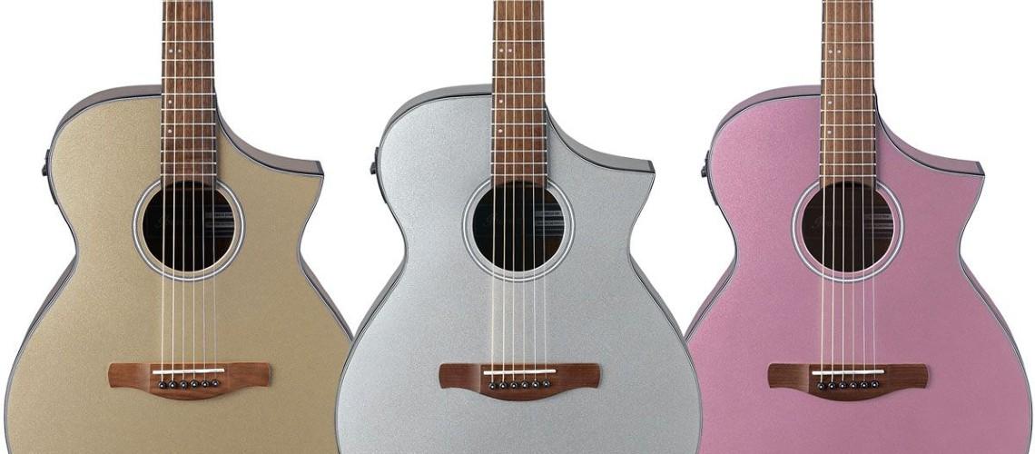 Ibanez, As Novas Guitarras Acústicas AEWC10